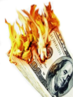 Why burn money when developing ASP.NET pages is so much more fun?